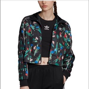 Adidas 2 piece track suit floral XL NWT